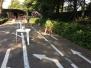 Behendigheidsproeven met de fiets in het verkeerspark: 1e graad juni 2017