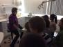 Bezoek aan de tandarts 1e graad januari 2016