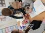 Zandloper maken 2de leerjaar feb.17